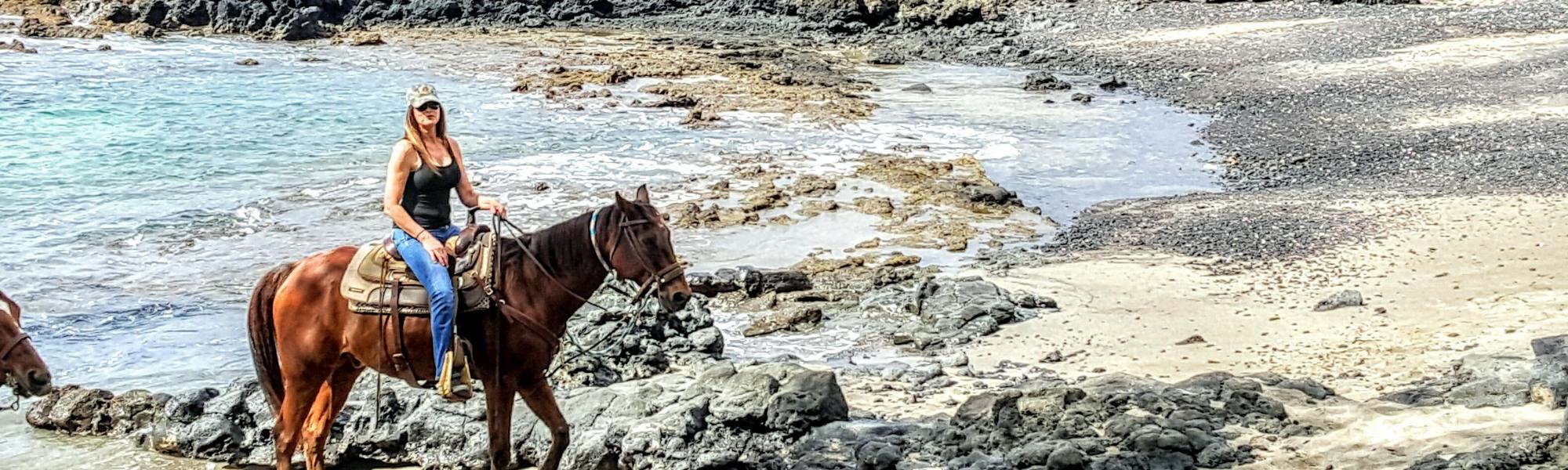 Makena Les Maui Horseback Riding On Sunset Rides